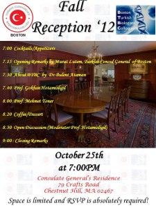 2012 Fall Reception